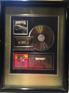 PANTERA - VULGAR DISPLAY OF POWER - RIAA Gold Record Plaque - 1992-93 Orig