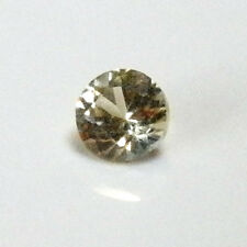 Natural Australian earth-mined  yellow round sapphire ..0.2  carat