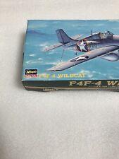 Hasegawa 1:72 Wildcat F4F-4 U.S.Navy Carrier Borne Fighter Plastic Mdl Kit# AP24