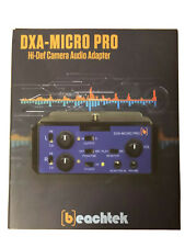 Beachtek DXA-MICRO PRO Audio Adapter for DSLR & Mirrorless Cameras (BMPCC, etc.)
