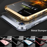 Luxury Aluminum Metal Bumper Case Frame Cover For Apple iPhone 6 6S 7 Plus 5S