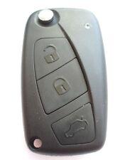 Ricambio 3 bottoni chiave a scomparsa custodia per Fiat Panda Punto Stilo
