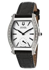 Women's Swiss Saleya Diamond Watch Brand New Bulova Accutron 63R004