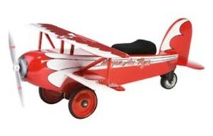 Morgan Cycle Red Ace Flyer Bi-Plane Vintage