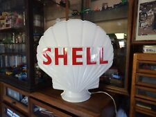 More details for shell replica petrol pump globe 1950s style