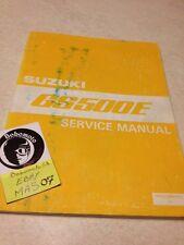 Suzuki GS500E GSE 500 GS500 E 500 GS E manuel atelier workshop service manual