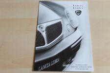 80947) Lancia Lybra + SW - Preise & technische Daten & Ausstattungen - Prospekt