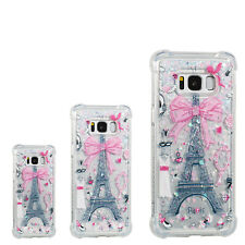 Soft Hybrid Quicksand Painting Case Cover For Samsung S8 S9+ Huawei LG ZTE SONY