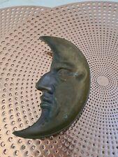 Vintage Brass Moon Face Dish. Needs a clean.V.G.C. preloved.