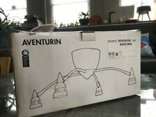 Vintage Ikea Aventurin Ceiling/Wall Mount Light Fixture 4X20W Mr11 Bulb 1995