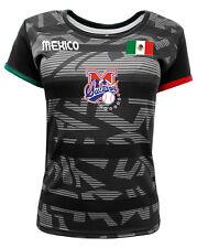 Women Jersey Mexico Sultanes de Monterrey 100% Polyester Black/Grey