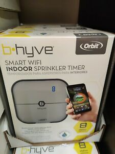 Orbit B-hyve Smart 8-Station Wi-Fi Sprinkler System Controller NEW Free shipping