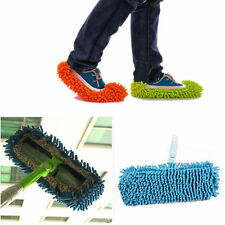 Dust Floor Cleaning Shoes Mop Bathroom House Clean Polishing Foot Multifunction
