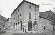 CPA 07300 TOURNON Hôtel de Ville & Ecole Communale Jeunes Filles Edit ca1907