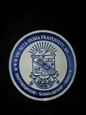 """Phi Beta Sigma Fraternity Seal Patch 4"""" Brand New"""