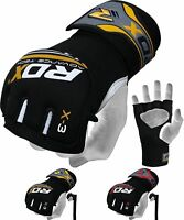 RDX Gel Grappling Gloves MMA Hand Wraps Boxing Mexican Punch Bag Muay Thai