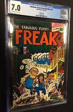 FABULOUS FURRY FREAK BROTHERS #1 (5th print)  - CGC 7.0 / Rip Off Press (1972)