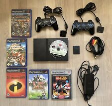 Playstation 2 - konsole slim - Schwarz