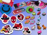 Radiergummi, Spider Man Mickey Mouse Motiv Radierer Herlitz Pelikan Maped Whizz