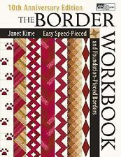 The Border Workbook by Janet Kime (10th Anniversary Ed) **NEW-FREE SHIPPING**