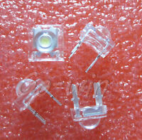 100 pcs 5mm 4pin White LED Super Bright LED light Piranha LED