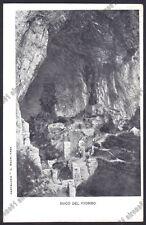 COMO ERBA 26 BUCO DEL PIOMBO - GROTTA Cartolina viaggiata 1906