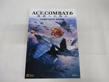 X360 -- Ace Combat 6 Complete Guide -- JAPAN Game Book. 50801