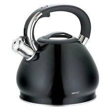 Stainless Steel Whistling Kettle 3.4L Induction Gas Hob GB KINGHOFF KH-1221