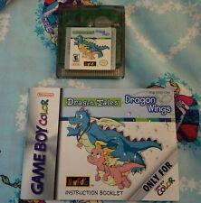 Dragon Tales Dragon Wings (Nintendo Game Boy) Game w/ booklet