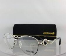 Brand New Authentic Roberto Cavalli Eyeglasses Altopascio 5004 016 Silver Frame