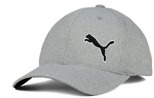 Puma Combo Span Flexfit Stretch Fit Gray Cap Hat $28 Size L/XL