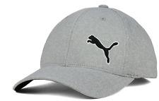 PUMA COMBO SPAN Flexfit Stretch Fit Gray Cap Hat Size L/XL