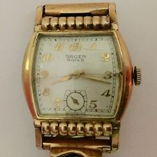 Vintage Gruen Caliber 215 Deco Style Watch For Resteration