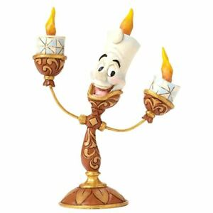 Disney Beauty and The Beast Lumiere Ooh La Collectable Figure - Boxed