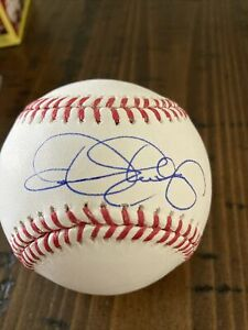 Dennis Eckersley Signed Auto Hall of Fame Baseball Tristar