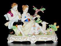 Antique German Dresden Porcelain Figurine This is an original Dresden.mint Condi
