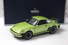 1:18 Norev Porsche 911 930 Turbo Coupe green NEW bei PREMIUM-MODELCARS