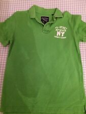 Soulstar Lime Green Polo Shirt In Excellent Condition Size XLB 100% Cotton