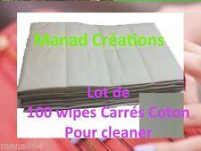 100 CARRÉS COTON CELLULOSE ONGLES GEL UV LED MANUCURE CLEANER ACRYLIQUE LIQUIDE