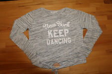 H&M Shirt ღღ Langarmshirt Gr. 146/152 ღღ grau