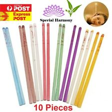 10pc Ear Candles For Cleaning Ear Wax Hopi Natural Holistic Alternative Therapy