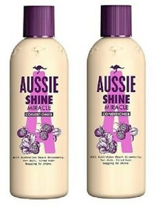 2 x Aussie Shine Miracle Conditioner (2 x 250ml)
