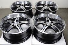 18 5x120 Rims Polished Fits BMW Acura 135 Z3 318 328 Z4 Lacrosse Regal Wheels