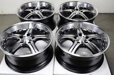 18 5x120 Rims Polished Fits BMW Acura 135 Z3 318 328 Z4 Lacrosse Regal Wheels