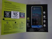 "Straight Talk 6.2""inch Motorola Moto E 32GB Midnight Blue (2020)Smartphone - NEW"