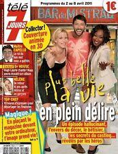 T7J 2653 PLUS BELLE LA VIE LES FEUX DE L'AMOUR PATRICIA KAAS HELENE ROLLES 2011