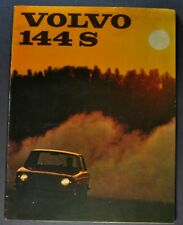 1967 Volvo 144 S Catalog Sales Brochure Nice Original 67