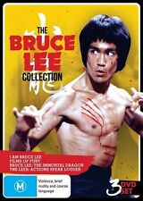 E27 BRAND NEW SEALED The Bruce Lee Collection STEEL BOX (DVD, 2013, 3-Disc Set)