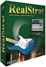 NEW Music Lab Real Strat Virtual Electric Guitar Instrument PC/MAC Logic Plug In