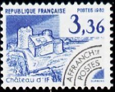 """FRANCE PREOBLITERE TIMBRE STAMP N°177 """"MONUMENTS, CHATEAU D'IF"""" NEUF xx TTB"""